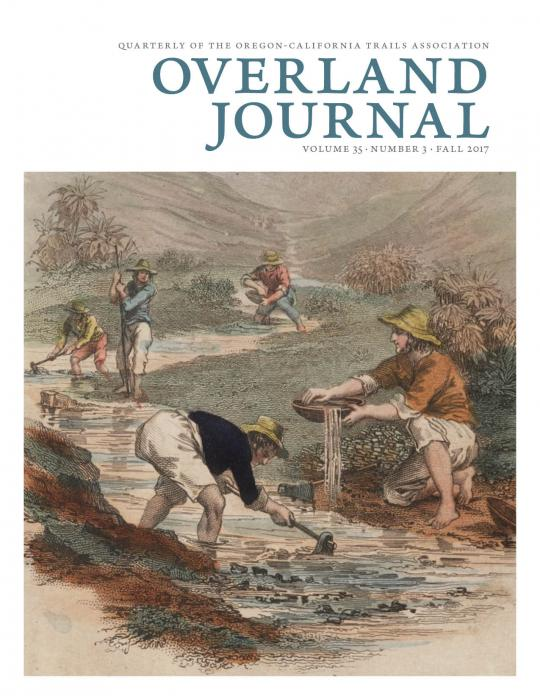 cover of Overland Journal Vol 35 no 3 Fall 2017