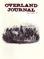 Overland Journal Volume 7 Number 4 1989