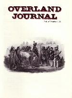Overland Journal Volume 7 Number 4 1989