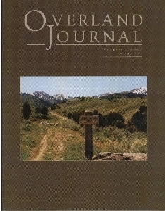 Overland Journal Volume 23 Number 2 Summer 2005