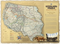 Map: Historic Trails of the Western United States