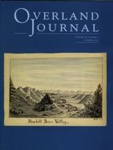Overland Journal Volume 28 Number 2 Summer 2010