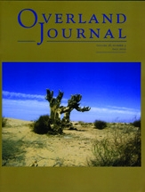 Overland Journal Volume 28 Number 3 Fall 2010