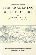 The Awakening of the Desert, by Julius C. Birge