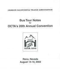 2002 OCTA Convention Tour Guide (Reno, NV)