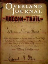 Overland Journal Volume 32 Number 3 Fall 2014