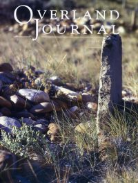 Overland Journal Volume 33 Number 3 Fall 2015