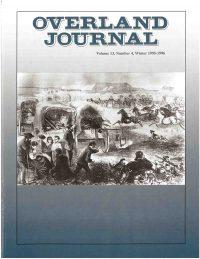 Overland Journal Volume 13 Number 4 Winter 1995-1996