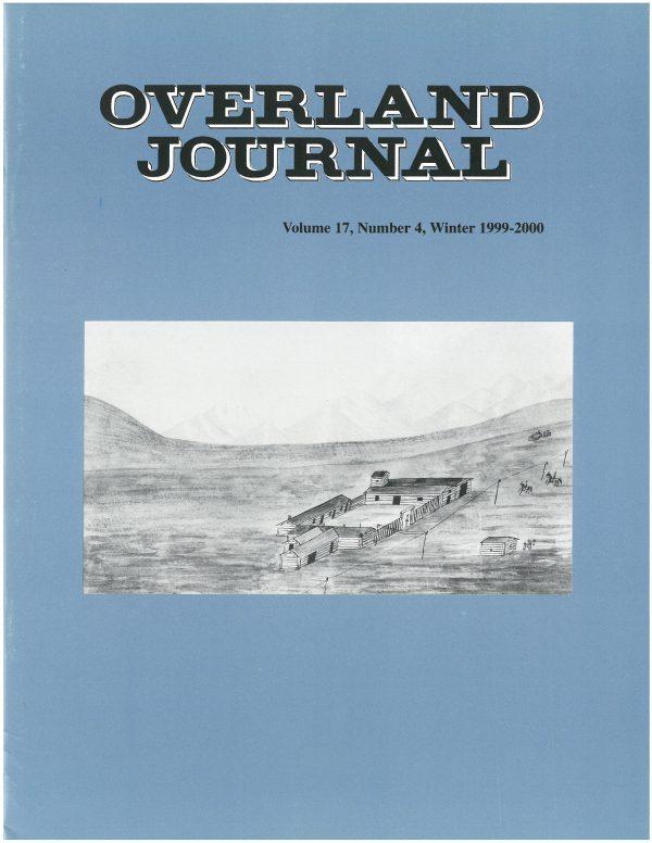 Overland Journal Volume 17 Number 4 Winter 1999-2000