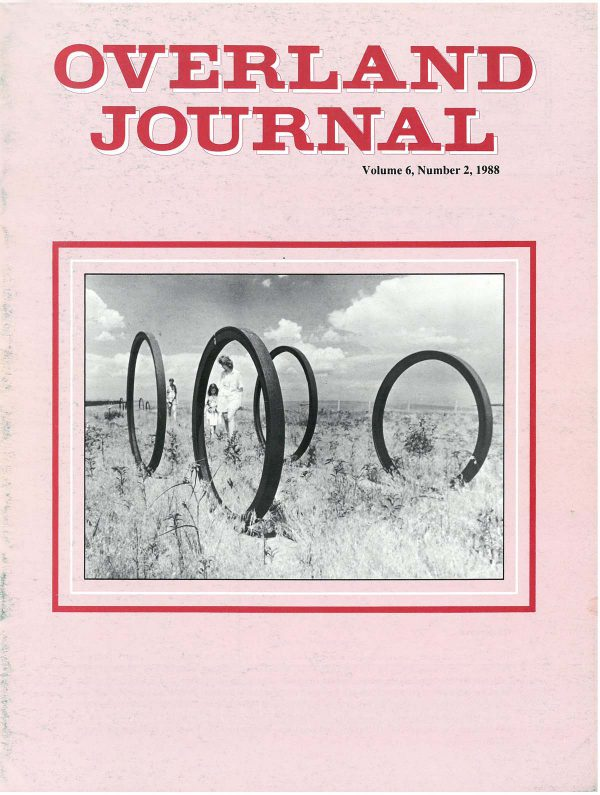 Overland Journal Volume 6 Number 2 1988
