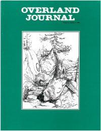 Overland Journal Volume 6 Number 3 1988