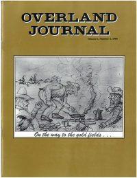 Overland Journal Volume 6 Number 4 1988