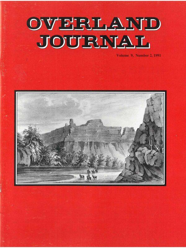 Overland Journal Volume 9 Number 2 1991