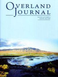 Overland Journal Volume 33 Number 4 2015-2016