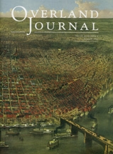 Overland Journal Volume 30 Number 2 Summer 2012