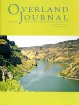 Overland Journal Volume 30 Number 4 Winter 2012