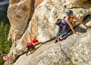 Wind River Country - Rock Climbing Sinks Canyon