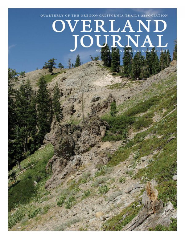 Cover of Overland Journal 36-2 Summer 2018