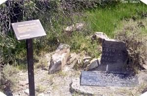 Pioneer Susan Coon grave site and marker