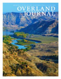Cover of Overland Journal Winter 2019