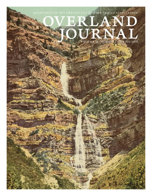 cover of Overland Journal 36-1 Spring 2018