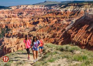 Utah canyon scenic