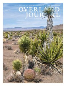 cover of Overland Journal Summer 2020