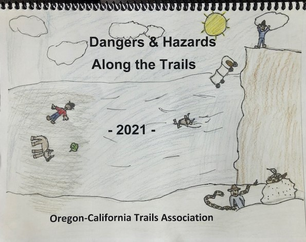 cover of OCTA 2021 Calendar with children's drawings