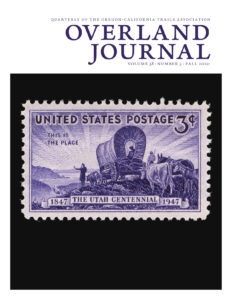 cover of Overland Journal Fall 2020
