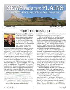 cover News From The Plains Winte2021