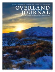cover Overland Journal Winter 2020-2021