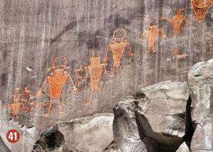 Indian cave art