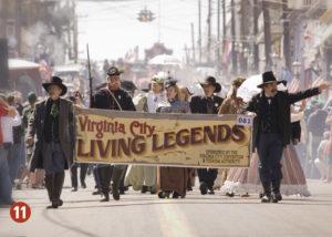 Virginia City Legends parade