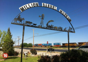 Million Barrel Museum sign